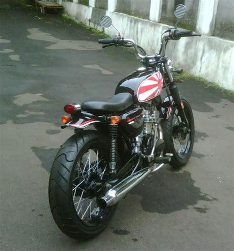 Knalpot Honda Cb100 By Loak Cb contoh modifikasi honda cb 100 classic untuk inspirasi