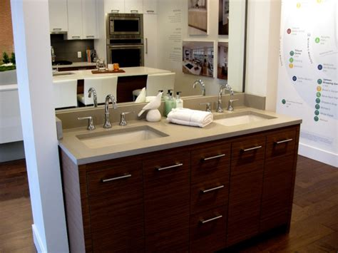 ensuite bathroom sinks condos with space to swing a spatula