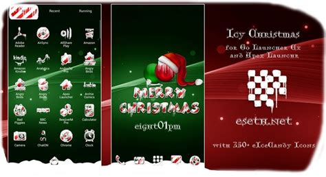themes christmas for mobile 1000 images about android go launcher themes on pinterest