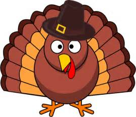 clip art thanksgiving turkey with brown hat vector clip art