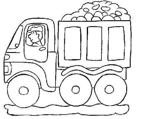 preschool coloring pages trucks beautiful has truck coloring pages truck coloring pages