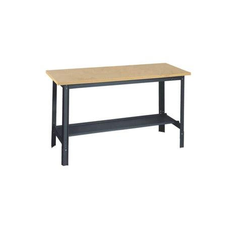 husky 72 inch adjustable workbench with solid wood top