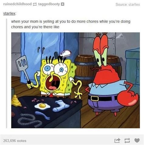 Spongebob Internet Meme - 18 times the internet was hella accurate about moms see