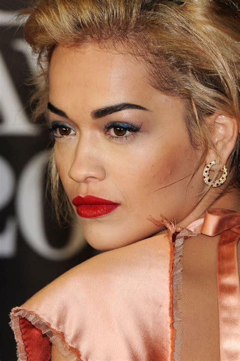 what lipstick does rita ora wear rita ora red lipstick red lipstick lookbook stylebistro