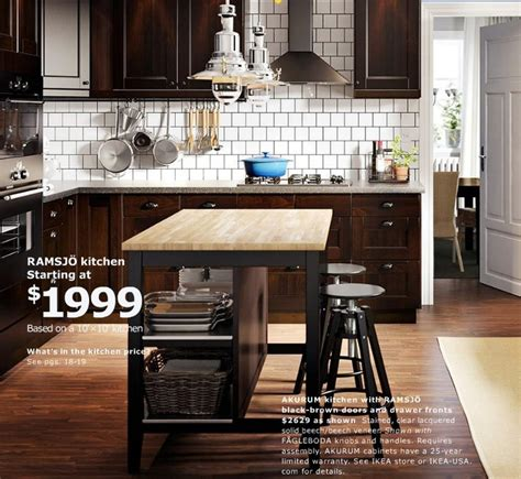 ikea kitchen island catalogue ikea stenstorp kitchen island in oak and black brown keep