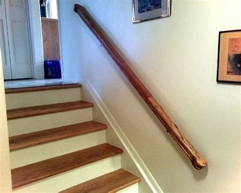 building a banister how to install a handrail