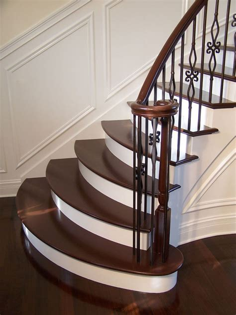 wood staircases the 25 best wrought iron stair railing ideas on pinterest
