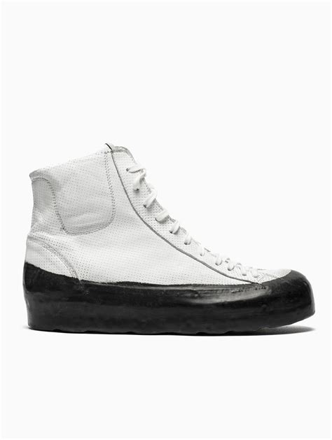 oxs sneakers oxs rubber soul high bottom sneakers in white for lyst