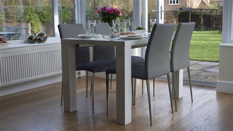 grey and white dining table white high gloss extending dining table and chairs uk
