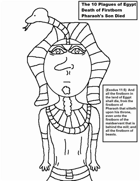 Egyptian Coloring Pages For Kids Coloring Home Pharaoh Coloring Pages