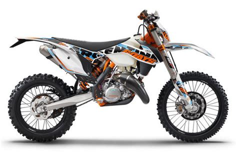 Ktm Exc 125 Top Speed 2015 Ktm 125 Exc Six Days Motorcycle Review Top Speed