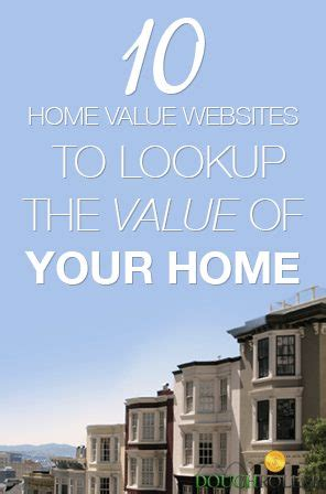 10 home value websites to lookup the value of your home