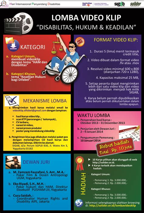 jasa pembuat poster membuat video klip online lomba video klip quot