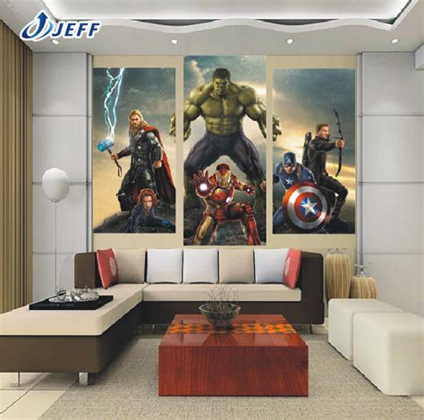 10 best marvel avengers wall decor ideas home design and aliexpress com buy marvel movie the avengers 3 group