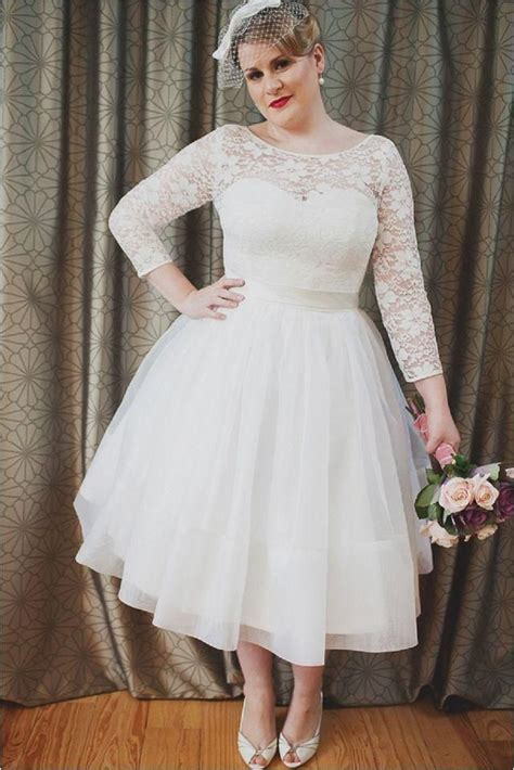 Wedding Ceremony Length by Top 25 Best Mid Length Wedding Dresses Ideas On