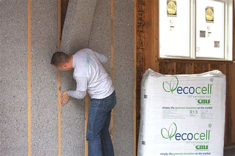 Batt And Blanket Insulation by Ecocell 174 Batts Ecocell By Cellulose Material Solutions Llc