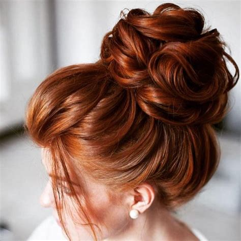 different hairstyles of buns 35 cute hair buns trendy hairstyles to try out