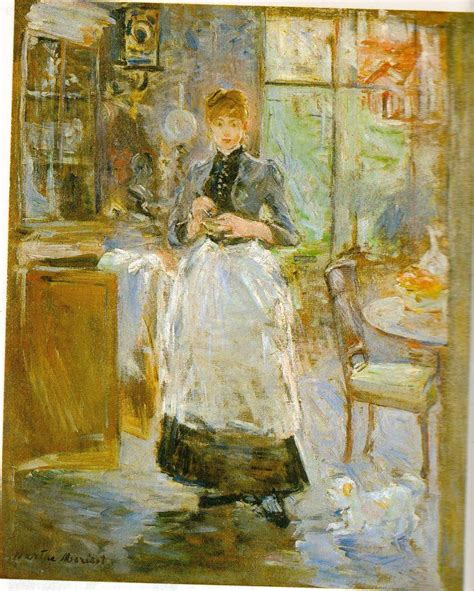 berthe morisot in the dining room study guide 4 modernity humanities western