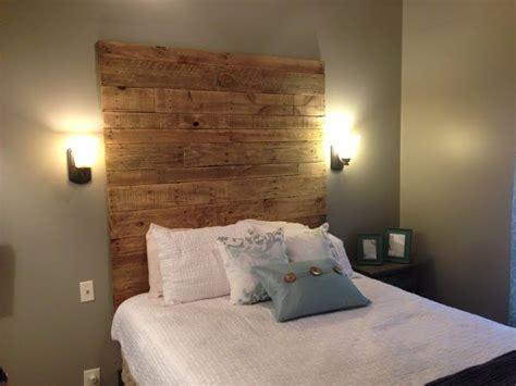 wood diy headboard 27 diy wooden headboard ideas