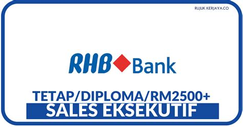 rhb bank internship jawatan kosong terkini sales executive di rhb bank