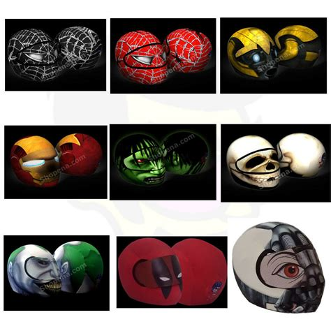 Helmet Visor Stickers
