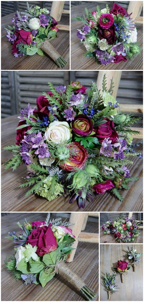 How To Make Wedding Bouquets Using Artificial Flowers by Best 25 Artificial Wedding Bouquets Ideas On