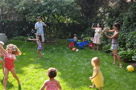 family backyard games milawncare maintenance and mowing call 248 733 3855