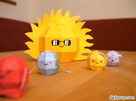 How To Make A Sun Out Of Paper -