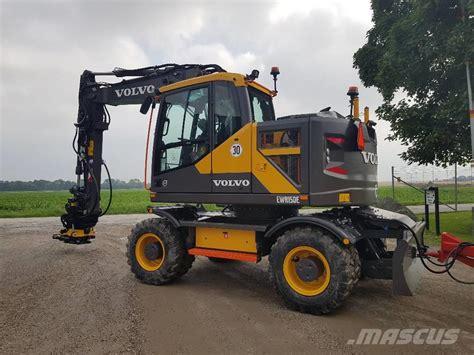 volvo ewr   uthyres wheeled excavators year   sale mascus usa