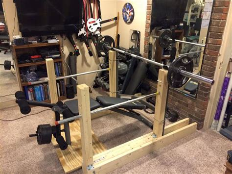 wood bench press 12 best images about wooden squat rack on pinterest