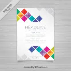 template of brochure brochure template vectors photos and psd files free