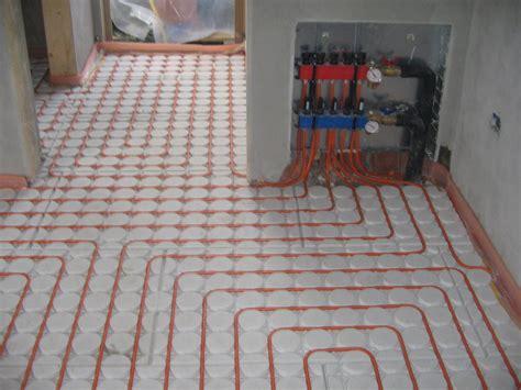 progetto riscaldamento a pavimento foto riscaldamento a pavimento ribassato di tecniche