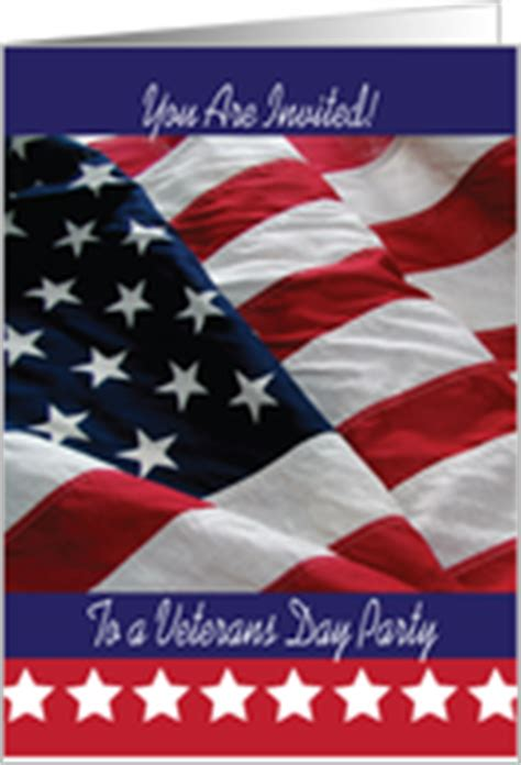 Veterans Day Invitations From Greeting Card Universe American Flag Invitation Template