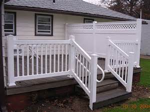 Vinyl deck and fence fences