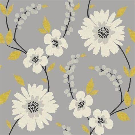 yellow flower wallpaper uk mustard yellow wallpaper uk google search kitchen