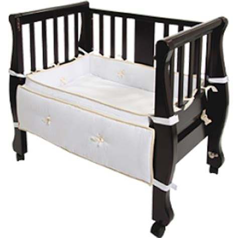 co sleeper attaches to bed arm s reach sleigh bed co sleeper birth partner