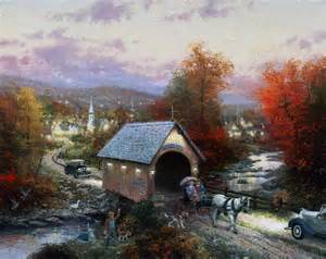 Connecticut Cottages And Gardens - country memories the thomas kinkade company
