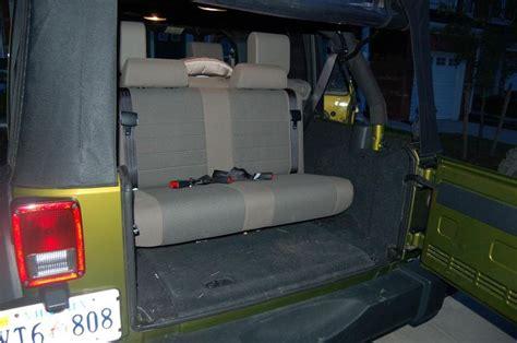Third Row Seat Jeep Wrangler Jeep Wrangler Jk 3rd Row Seat Car Interior Design