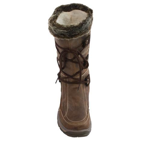santana canada mendoza leather snow boots for