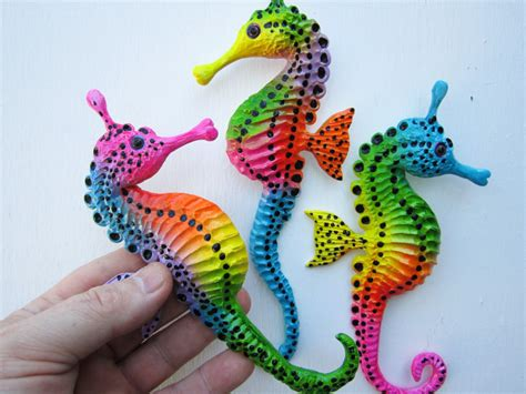 Seahorse Decorations by Seahorse Sculptures Wall Nautical Decor Bathroom