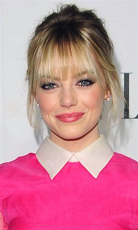 easy hairstyles for school with fringes 49 best blunt fringe up do s images on pinterest