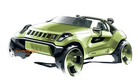 jeep sedan concept 2008 jeep renegade concept pictures news research