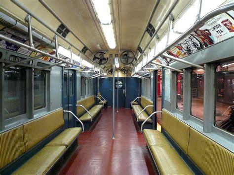 car upholstery nyc file r12 irt subway car interior jpg wikimedia commons