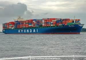 Hyundai Shanghai Vessel Hyundai Shanghai Type Of Ship Cargo Ship Callsign