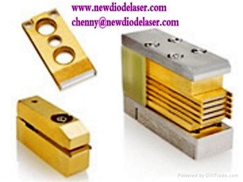 diode laser array on the microchannel cooler micro channel cooler package laser diode stacks china manufacturer diode triode