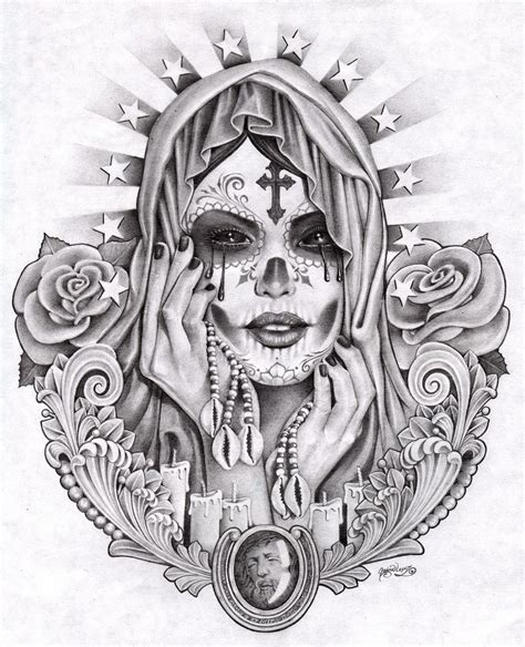 day of the dead tattoo designs best cool tattoo designs