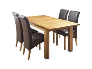 Harveys Dining Room Furniture Toulouse Extending Dining Table And 4 Darcy Leather Effect Chairs Dining Room Furniture