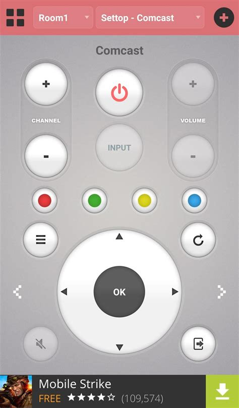 turn  android phone   universal remote control