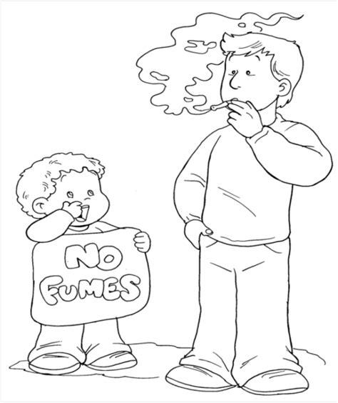 dibujo de piol 237 n con frase para enamorar lema al da del no fumador im 225 genes para ni 241 os del