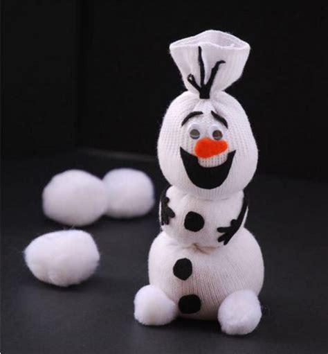 Elsa Sock Snowman Olaf The Sock Snowman Allfreekidscrafts